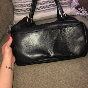 Tory Burch Bags - Tory Burch black leather purse